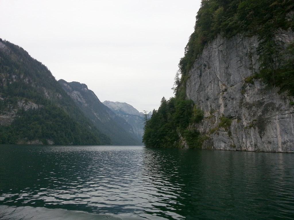 Traversata del lago di Königssee