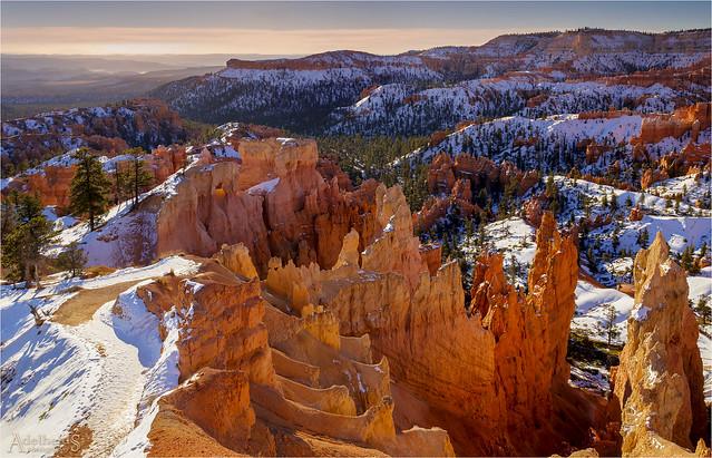 Winter sunrise in Bryce