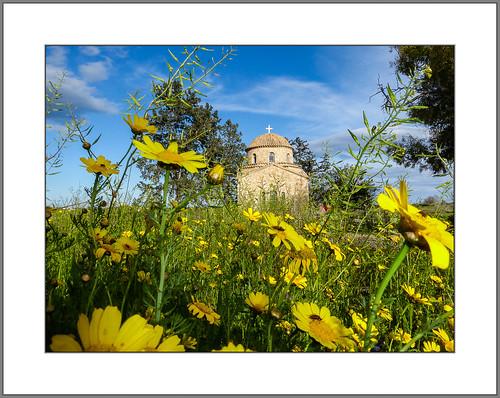 zypern kloster stbarnabas frühling