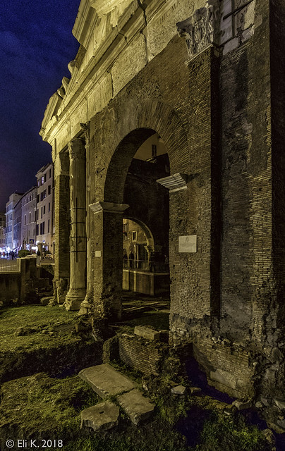 Via del Portico d'Ottavia, Rome