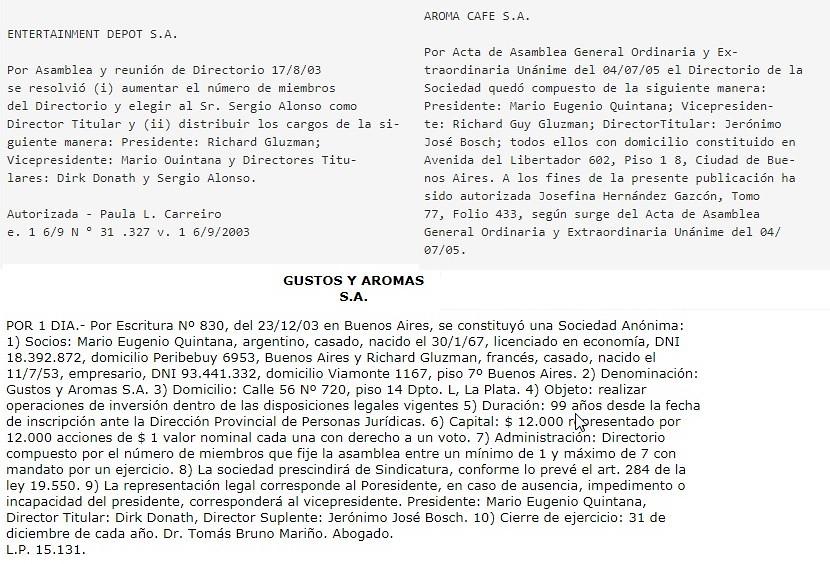 Sociedades Gluzman-Quintana