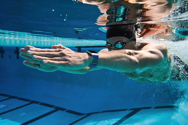 Fitbit Ionic Underwater