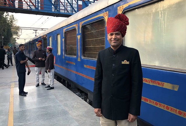 Palace on Wheels, Rajasthan, India, 2018 50