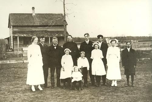 Otto & Maria Schulz; guessing Phlox WI; circa 1900