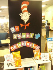 Dr Seuss display, Shirley Library