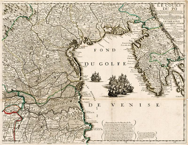 Jean-Baptiste Nolin - Le Cours Du Po (c.1700)