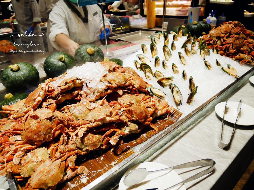 台北大安漢來海港餐廳海鮮自助餐buffet吃到飽 (2)