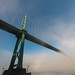 Beginning to think I'm obsessed with fog & the Lions Gate Bridge...