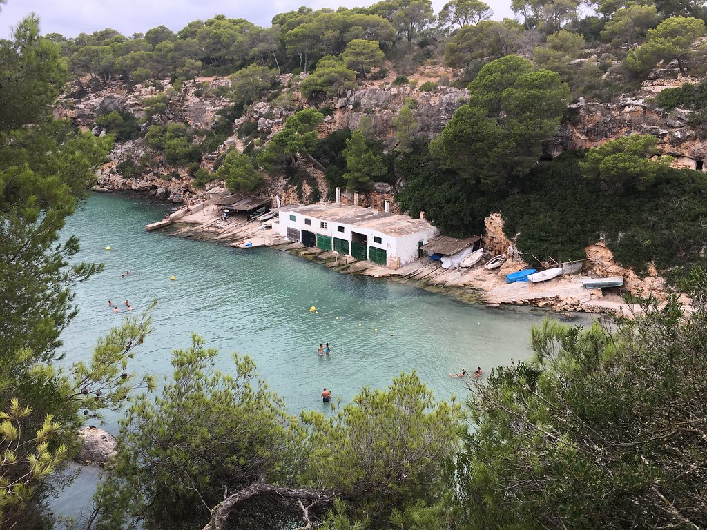 The best beaches in Mallorca: A view of Cala Pi