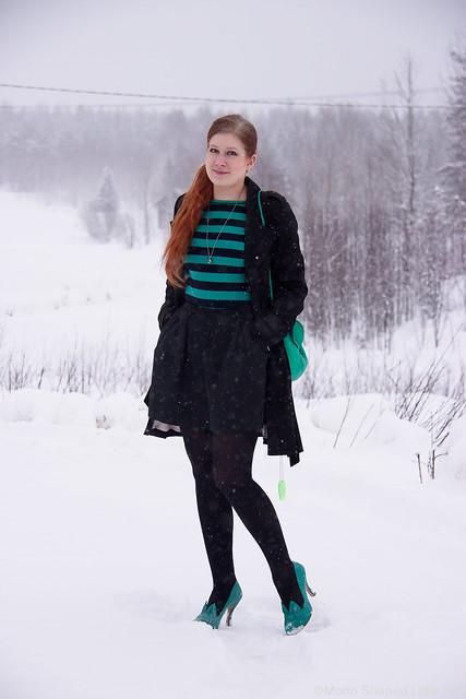 tyylibloggaaja, talvipukeutuminen, päivän asu