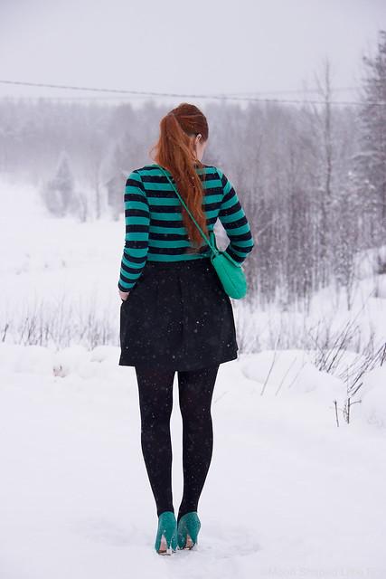 pitkät hiukset, bloggaaja, päivän asu, persoonallinen tyyli