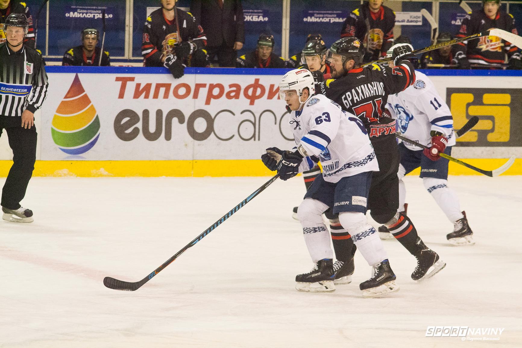 HC Gomel 2:3 HC Dinamo-Molodechno. 08/02/2018