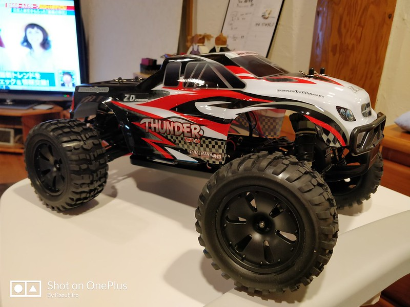 ZD Racing 10427 ラジコンカー 開封レビュー (41)