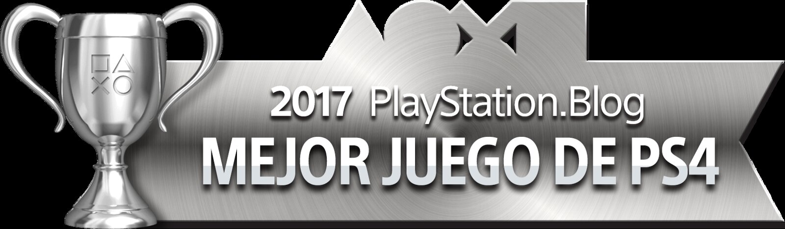 PlayStation Blog Game of the Year 2017 - Best PS4 Game (Plata)