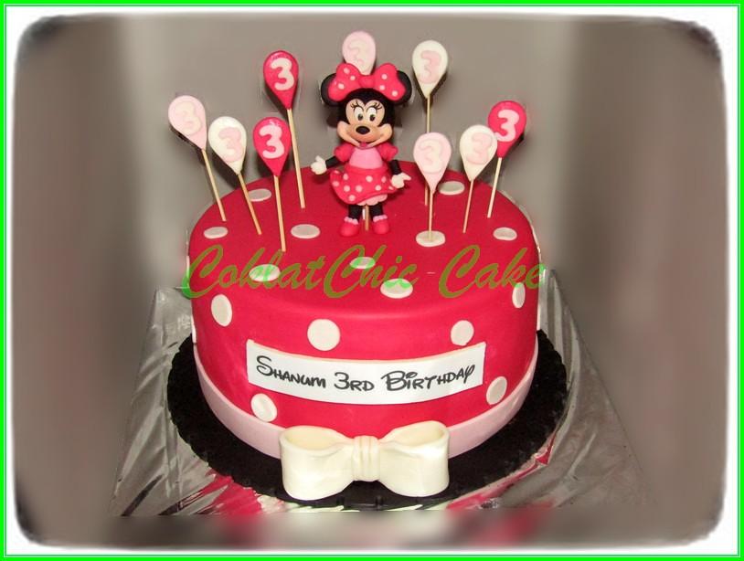 Cake Minnie Mouse SHANUM 22 cm