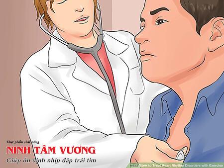 Tới thăm khám và xin ý kiến của bác sĩ điều trị rối loạn nhịp tim