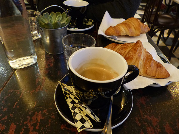 petit café du matin