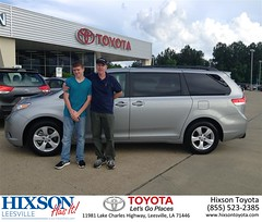 #HappyBirthday to Phillip from Cindy Crosby at Hixson Toyota of Leesville!