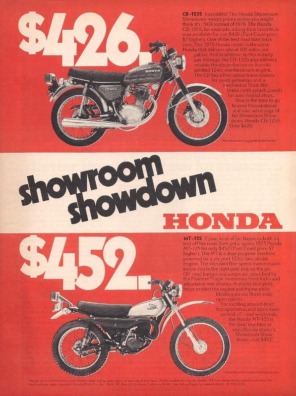 Honda CB125 MT125