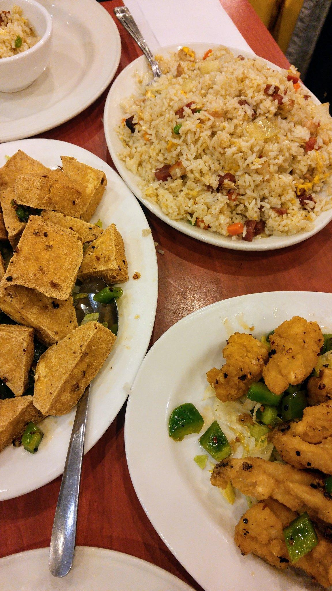 Restaurant Mon Shing plats chinois tofu bouffe repas asiatique