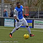 AFC Sudbury v Barking FC - Saturday January 20th 2018
