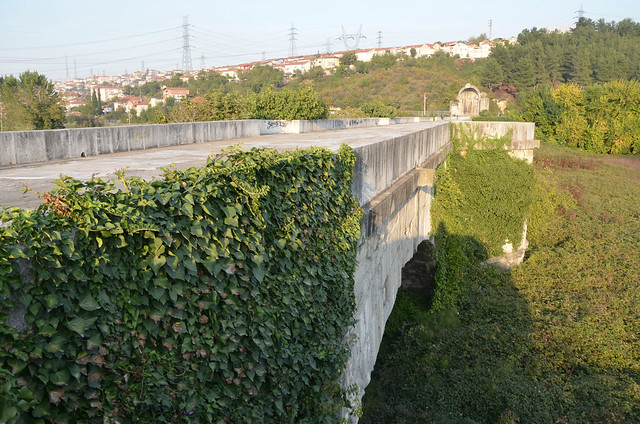Sangarius Bridge, a 430 m late Roman bridge over the river Sangarius built by the East Roman Emperor Justinian I to improve communications between the capital Constantinople and the eastern provinces of his empire, Turkey