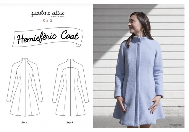 Pauline Alice Pattern view Hemesferic Coat