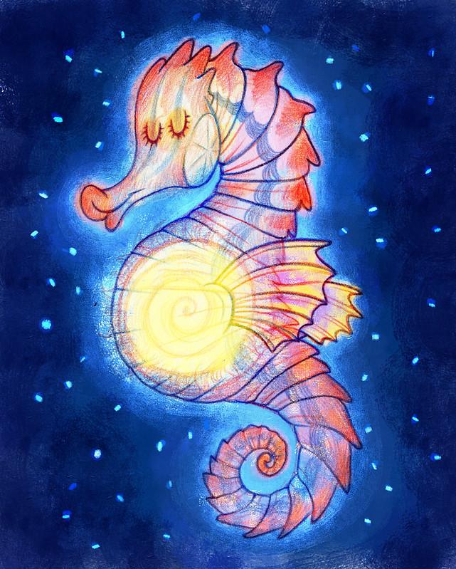 05 тема солнце морской конёк