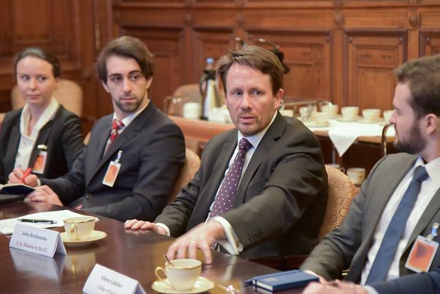 Transatlantic Affairs Seminar at the U.S. Mission to the EU.31 January 2018