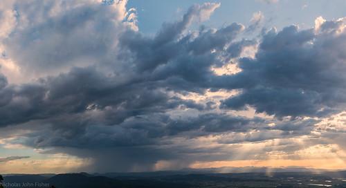landscape view australianlandscape australianweather storms distance sequeensland queensland australia