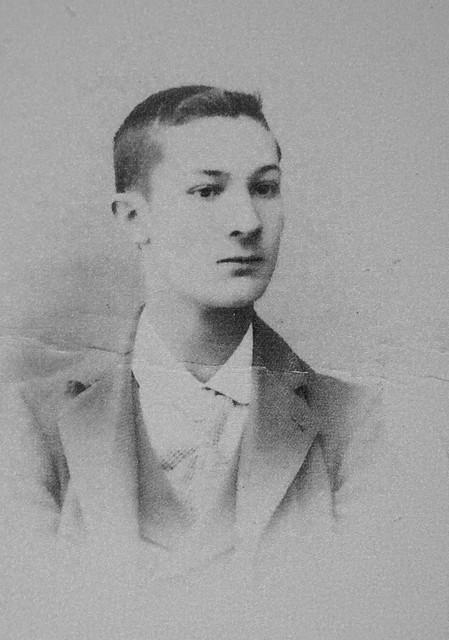 Ángel García a finales del siglo XIX