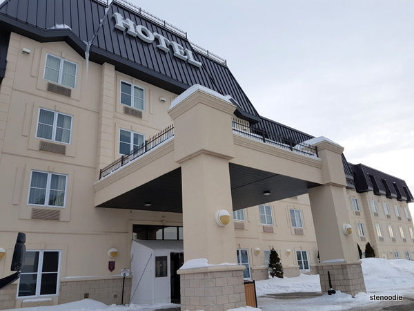 Comfort Inn & Suites storefront
