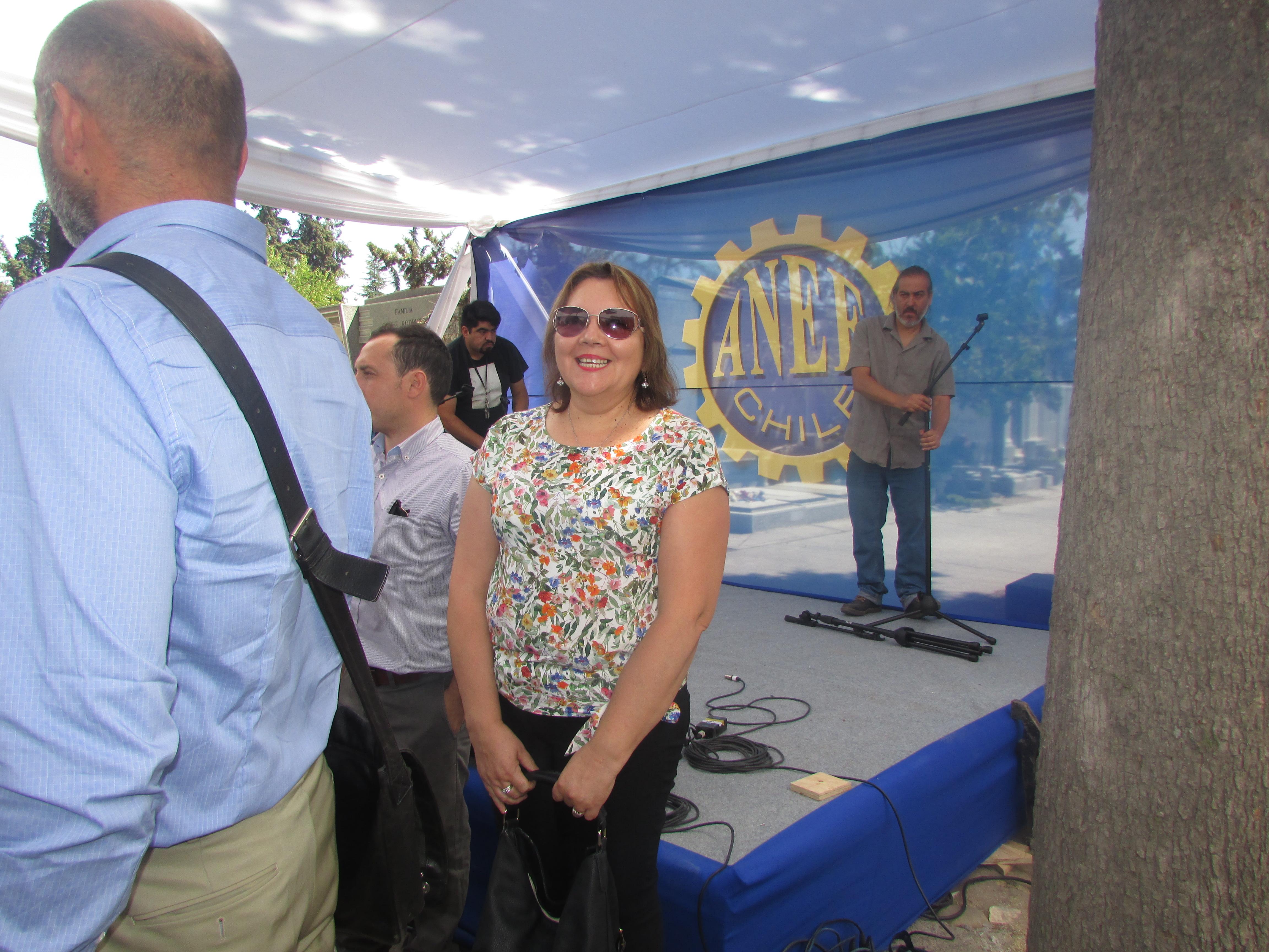 ANEC presente en nueva conmemoración de dirigente Tucapel Jímenez Alfaro - 26 Febrero 2018