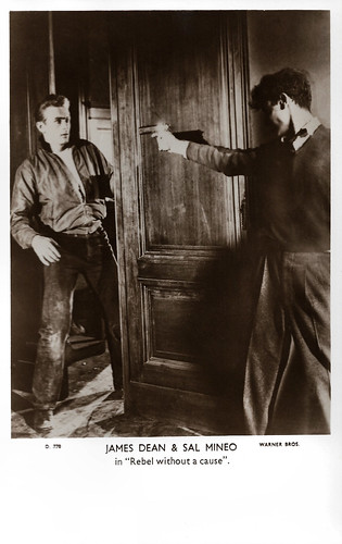 James Dean and Sal Mineo in Rebel Without a Cause (1955)