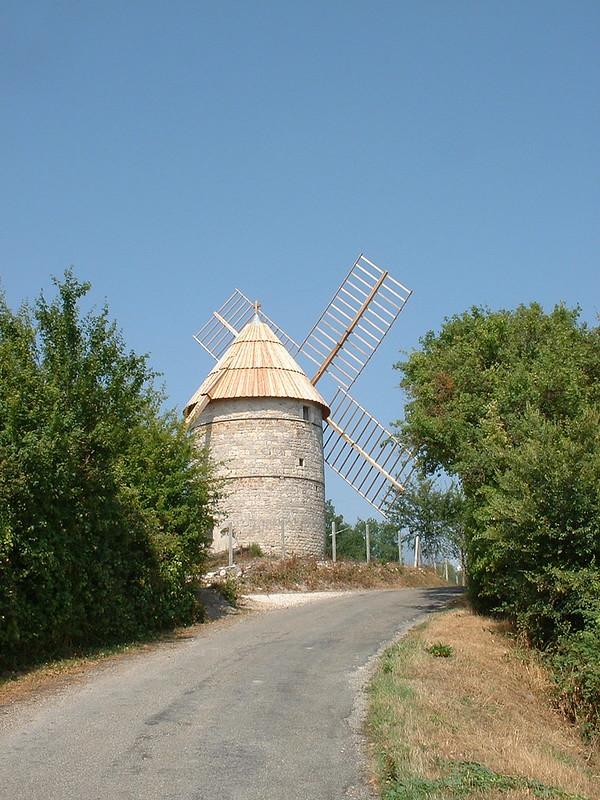 Castelnau-Montratier - Moulin à vent de Rigal (ou de Cornus)