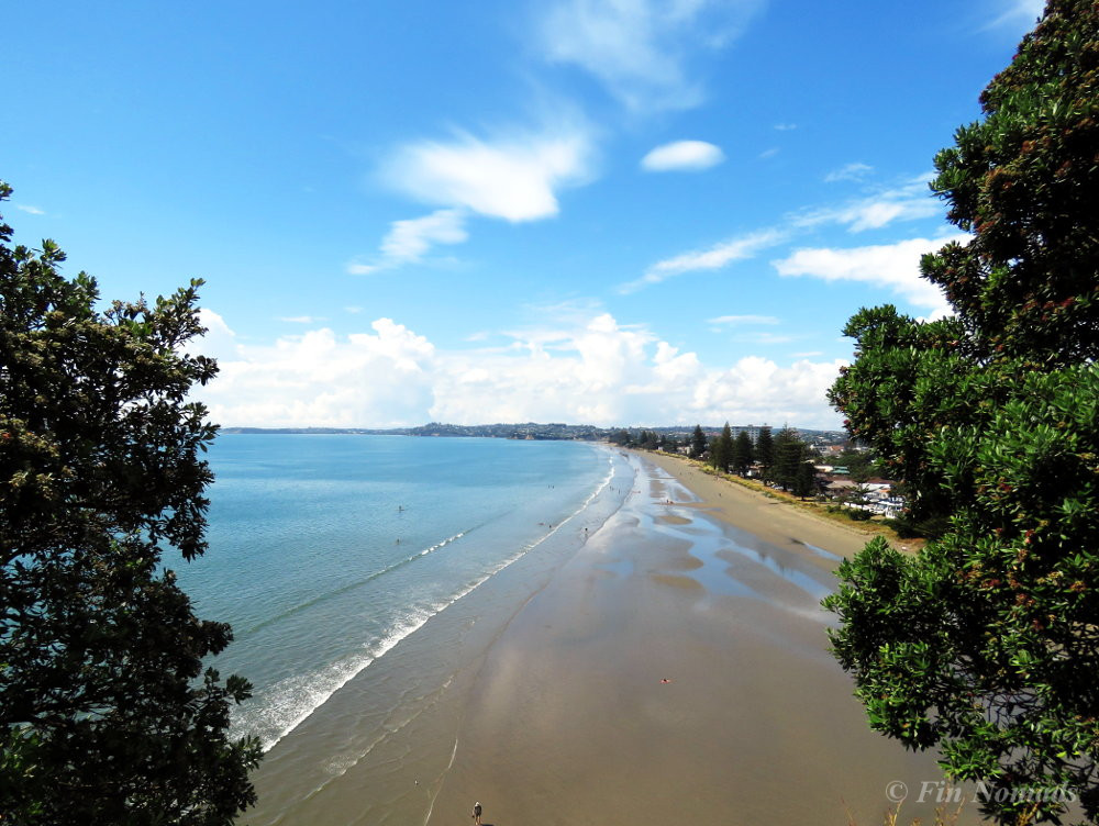 Orewa beach viewpoint