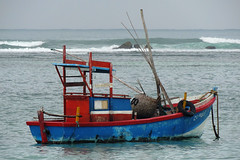 Weligama - Sri Lankan Fishing Boat