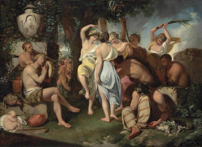 John Hamilton Mortimer - A Bacchanalian Dance