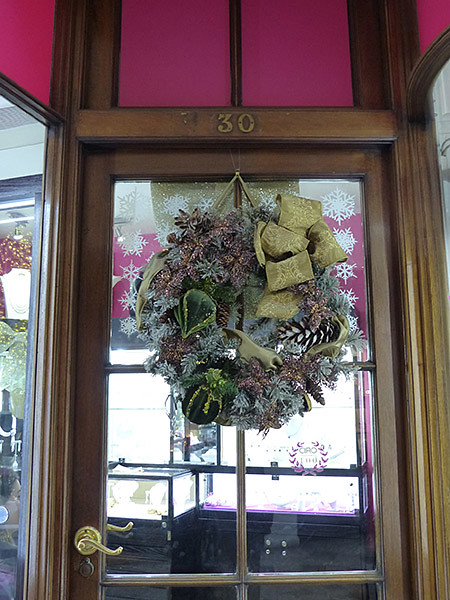 burlington arcade's door