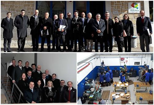 Delegación mexicana visita clúster de moldes portugués