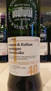 SMWS 89.8 - Lemon & Italian meringue cheesecake