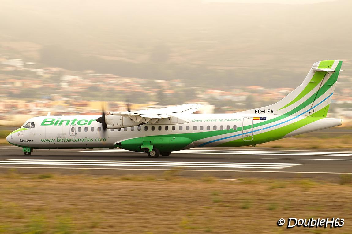EC-LFA ATR72 Binter TFN