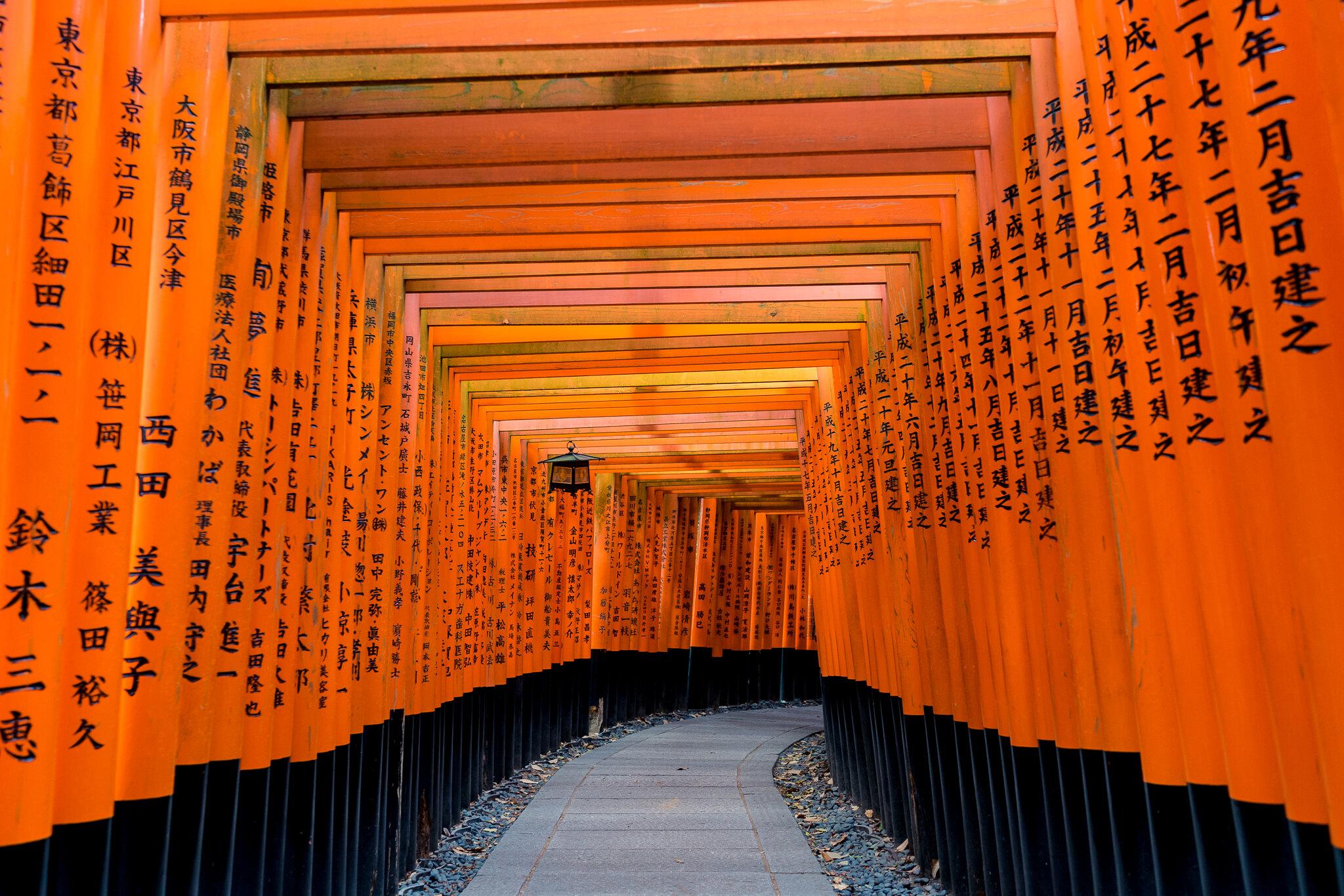 Gates of Fushimi Inari-taisha
