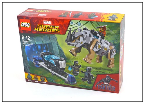 LEGO Marvel Super Heroes Black Panther 76099 & 76100 box 01