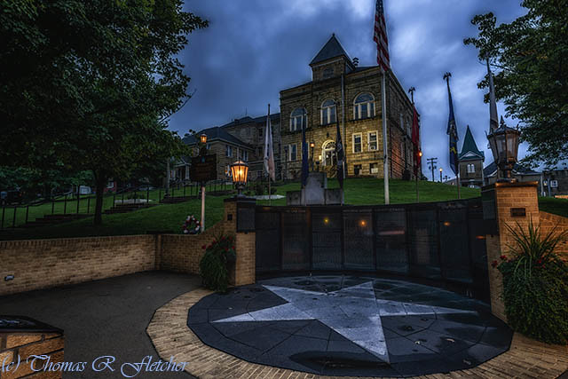 Webster County Courthouse in the Blue Hour