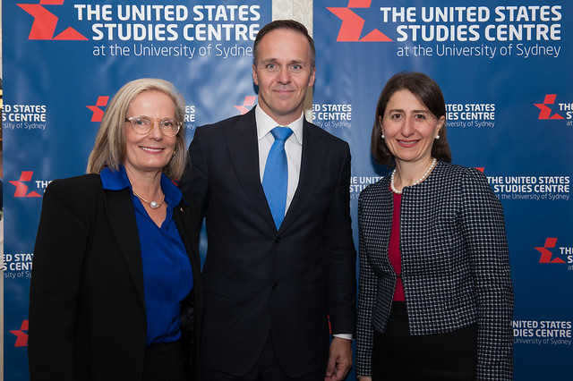 Gladys Berejiklian and Lucy Turnbull discuss infrastructure, innovation and the US-Australia relationship