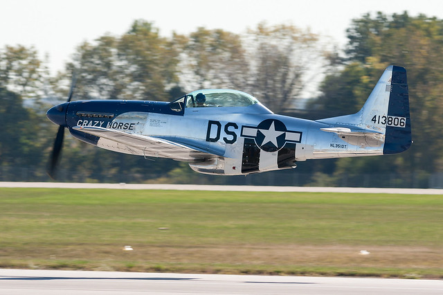 North American P-51 Mustang, Canon EOS DIGITAL REBEL XTI, Canon EF 300mm f/4L IS