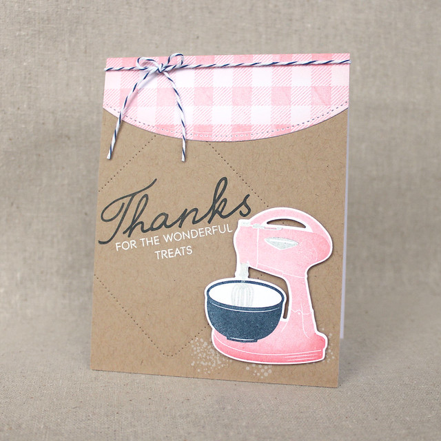 Lizzie Jones Wonderful Treats Card