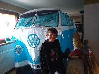 There's a campervan in my upstairs lounge!!