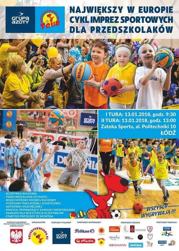 plakat Azoty PTour2018  Lodz